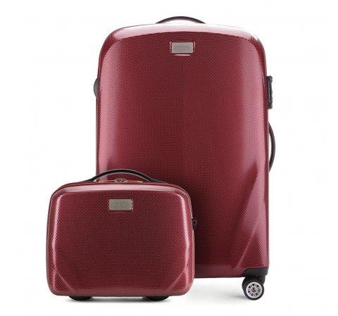 Средний чемодан + косметичка 56-3P-572_4-35