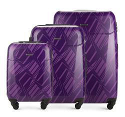 Luggage set, violet, 56-3A-27S-4P, Photo 1