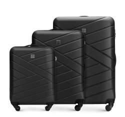 Zestaw walizek, czarny, 56-3A-30S-10, Zdjęcie 1