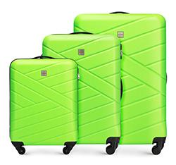Zestaw walizek, zielony, 56-3A-30S-85, Zdjęcie 1