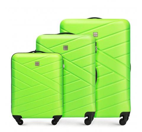 75684012c42d4 Zestaw walizek podróżnych z ABS | WITTCHEN | 56-3A-30S