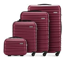 Zestaw walizek, bordowy, 56-3A-31K-30, Zdjęcie 1