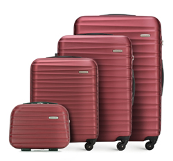 Luggage set, burgundy, 56-3A-31K-31, Photo 1