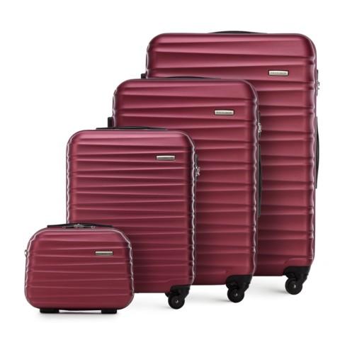 Zestaw walizek, bordowy, 56-3A-31K-31, Zdjęcie 1