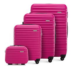 Zestaw walizek, różowy, 56-3A-31K-34, Zdjęcie 1