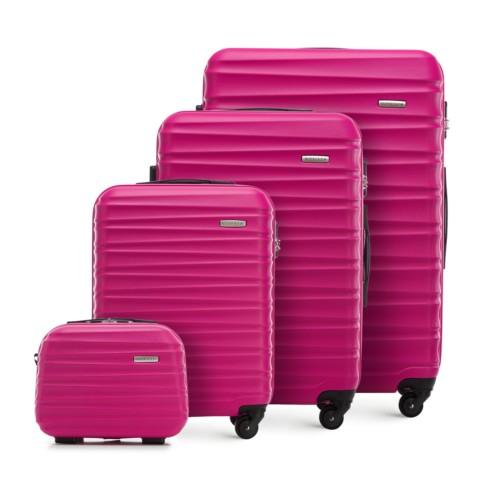 Zestaw walizek, różowy, 56-3A-31K-31, Zdjęcie 1