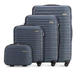 Luggage set, navy blue, 56-3A-31K-91, Photo 1