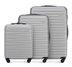 Luggage set, grey, 56-3A-31S-01, Photo 1