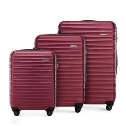 Zestaw walizek, bordowy, 56-3A-31S-31, Zdjęcie 1