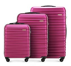 Zestaw walizek, fuksja, 56-3A-31S-33, Zdjęcie 1
