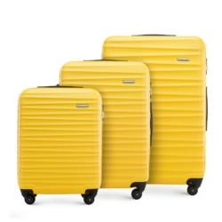 Zestaw walizek, żółty, 56-3A-31S-50, Zdjęcie 1