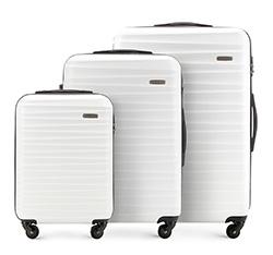 Zestaw walizek, biały, 56-3A-31S-88, Zdjęcie 1