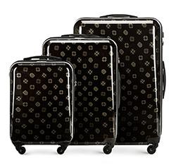 Zestaw walizek, czarny, 56-3A-33S-10, Zdjęcie 1