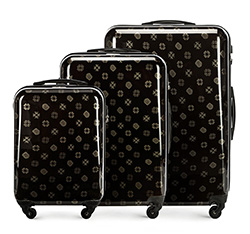 Комплект чемоданов из ABS пластика Wittchen, 56-3A-33S-10 56-3A-33S-10