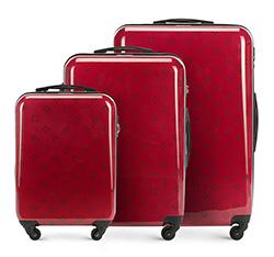 Zestaw walizek, czerwony, 56-3A-33S-30, Zdjęcie 1