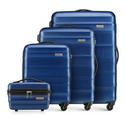 Zestaw walizek, granatowy, 56-3A-35K-90, Zdjęcie 1