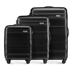 Zestaw walizek, czarny, 56-3A-35S-10, Zdjęcie 1