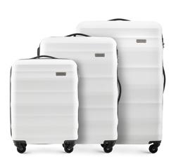 Zestaw walizek, biały, 56-3A-35S-88, Zdjęcie 1