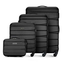 Zestaw walizek, czarny, 56-3A-36K-10, Zdjęcie 1