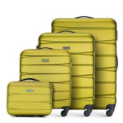 Zestaw walizek, zielony, 56-3A-36K-81, Zdjęcie 1