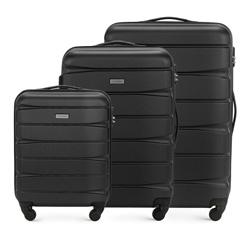Zestaw walizek, czarny, 56-3A-36S-10, Zdjęcie 1
