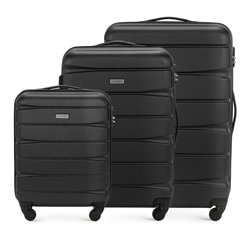 Комплект чемоданов из ABS пластика Wittchen  56-3A-36S-10 56-3A-36S-10