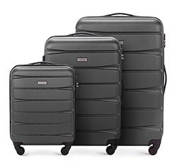 Zestaw walizek, grafitowy, 56-3A-36S-12, Zdjęcie 1