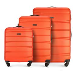 Zestaw walizek, pomarańczowy, 56-3A-36S-56, Zdjęcie 1