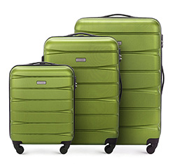 Luggage set, green, 56-3A-36S-80, Photo 1