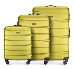 Zestaw walizek, zielony, 56-3A-36S-81, Zdjęcie 1