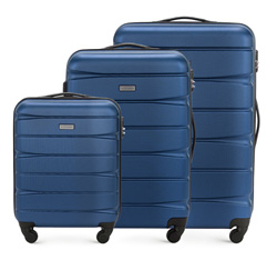 Комплект чемоданов из ABS пластика Wittchen, 56-3A-36S-90 56-3A-36S-90