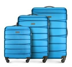 Zestaw walizek, niebieski, 56-3A-36S-96, Zdjęcie 1