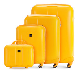 Luggage set, yellow, 56-3A-37K-50, Photo 1
