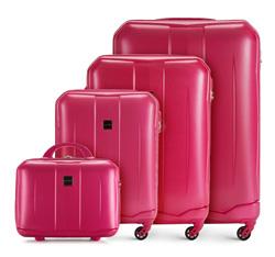 Zestaw walizek, różowy, 56-3A-37K-60, Zdjęcie 1