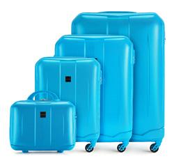 Zestaw walizek, błękitny, 56-3A-37K-77, Zdjęcie 1