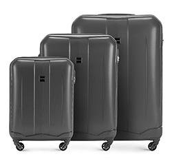 Zestaw walizek, szary, 56-3A-37S-00, Zdjęcie 1