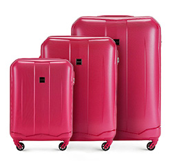 Luggage set, pink, 56-3A-37S-60, Photo 1