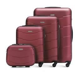 Zestaw walizek, burgund, 56-3A-40K-30, Zdjęcie 1