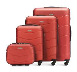 Luggage set, brick red, 56-3A-40K-65, Photo 1