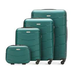 Zestaw walizek, zielony, 56-3A-40K-80, Zdjęcie 1