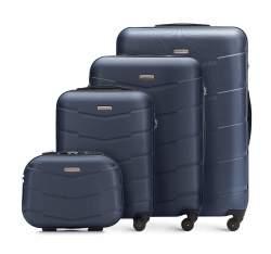 Zestaw walizek, granatowy, 56-3A-40K-90, Zdjęcie 1