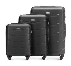 Zestaw walizek, czarny, 56-3A-40S-10, Zdjęcie 1
