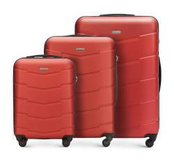 Luggage set, brick red, 56-3A-40S-65, Photo 1