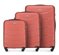 Zestaw walizek, pomarańczowy, 56-3A-40S-66, Zdjęcie 1