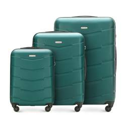 Luggage set, green, 56-3A-40S-80, Photo 1