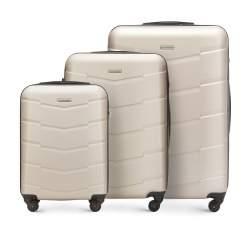 Zestaw walizek, szampański, 56-3A-40S-85, Zdjęcie 1