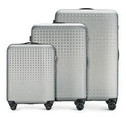 Zestaw walizek, szaro - niebieski, 56-3A-41S-00, Zdjęcie 1