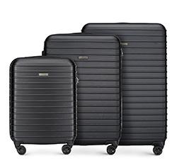 Zestaw walizek, czarny, 56-3A-42S-10, Zdjęcie 1