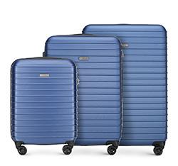 Zestaw walizek, granatowy, 56-3A-42S-90, Zdjęcie 1