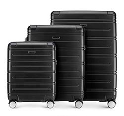 Zestaw walizek, czarny, 56-3A-44S-10, Zdjęcie 1